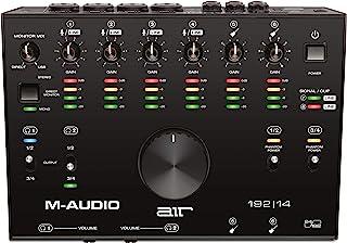 M-Audio USB/USB-C 对应 8 英寸/ 4 外部 音频接口 MIDI 接口 Pro Tools First/Ableton Live Lite/Eleven Lite/Avid Effects Collection/AIR Mus...