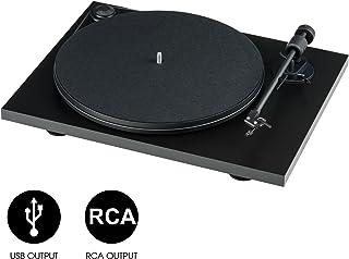 Pro-Ject Audio Systems可调节播放唱机USB接口黑胶唱盘音乐播放器黑色