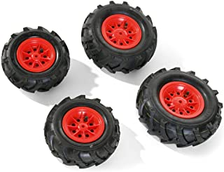 Rolly Toys 409853pneumatic tires for tractors red rim