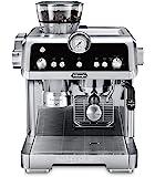 De'Longhi 德龙 La Specialista 特浓咖啡机,带有感应研磨器,双重加热系统,高级拿铁系统和用于美洲…