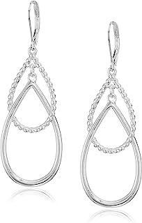 Anne Klein Silver Leverback 双耳耳环,均码 (60548665-G03)
