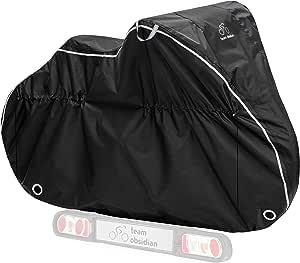 自行车罩 - 防水户外自行车存放 1、2 或 3 辆自行车 - 重型防撕裂材料 - 2 种款式:固定和运输 - 四季提供持续保护
