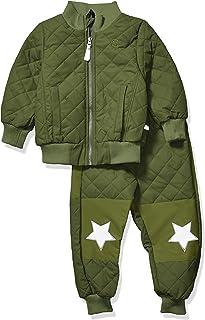 MIKK-Line - 麦尔登儿童和婴儿绗缝保暖抓绒内衬上下雪套装
