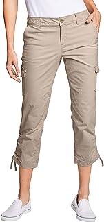 Eddie Bauer 女士裤 Adventurer Ripstop 七分裤 - 工装裤