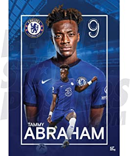 Be The Star Posters Chelsea FC 2020/21 Tammy Abraham A2 足球海报/印刷/墙艺术 - 官方*产品 - 提供 A3 和 A2 (A2)