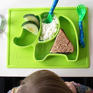 Nuby SURE GRIP 硅胶餐垫 绿色
