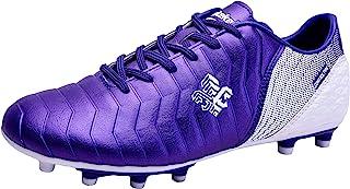 Saekeke 足球鞋儿童男孩 FG 防滑钉/TF 专业训练女孩足球鞋