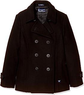 [橄榄橄榄学校 ] 橄榄橄榄橄榄学校 带立领P外套[黑色] 女孩 JC739-09