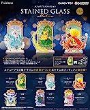 Pokemon 精灵宝可梦彩绘玻璃系列 全套6个装 食品玩具・口香糖(精灵宝可梦)