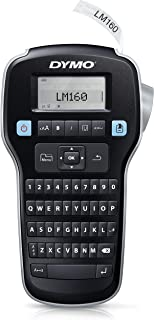 DYMO 达美 LMR-160 手持式便携标签打印机 键盘 大屏幕 适合办公和家庭 支持英文数字