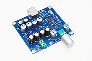 SMAKN X5 PCM2706 + CS4344 + 双 TDA1308 并行输出耳机插孔板
