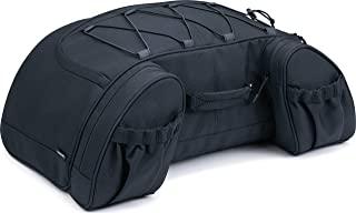 Kuryakyn 5281 Momentum Hitchhiker 摩托车旅行行李箱:耐候行李箱行李箱包,黑色