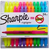 Sharpie Accent 口袋荧光笔,尖头,多种颜色,24 支装