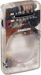 SANGEAN 山进 SR-35CL AM/FM新奇袖珍收音机 透明