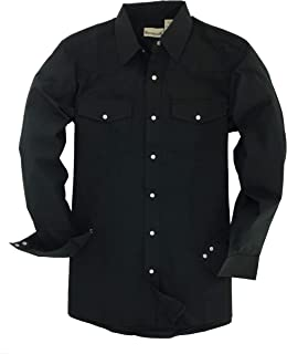 Backpacker 男式长袖纯色西部