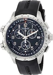 [HAMILTON]HAMILTON 腕表 卡其色 X-Wind GMT 计时码表 H77912335 男士 【正规进口商品】
