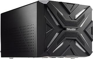 Shuttle XPC 游戏立方体 SZ270R9 迷你裸机电脑,Intel Z270 芯片组支持 95W Skylake/Kabylake CPU 无内存 无硬盘 / SSD 无CPU 无操作系统 500W PSU,黑色