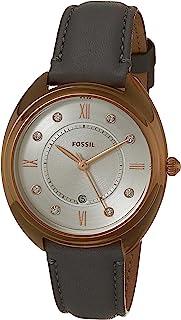Fossil 女士 Gabby 不锈钢水晶石英手表