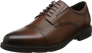 TEXCY LUXE 商务皮鞋 真皮 宽幅 4E TU-7796 男士