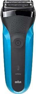 Braun 系列男士电动箔剃须刀/充电式电动剃须刀,干湿,蓝色