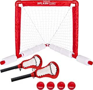 GoSports 长曲棍球漂浮泳池游戏套装 - 包括泳池长曲棍球球、2 根水长曲棍球棒和 4 个软橡胶球