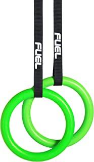 WF Athletic Supply 健身带吊环 - HEAVY DUTY 用于交叉训练、体操、力量和健身训练 - *好的奥运家庭健身套装 - PC 塑料比木头更强大