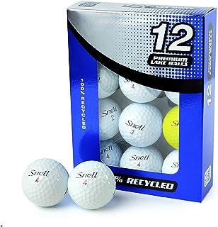 Second Chance 中性款 Snell A 级湖高尔夫球,多种颜色,尺码 12