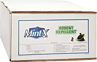 Mint-X 83% Recycled Plastic X-Heavy Rodent Repellent Trash Bag, Flat Seal