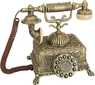 Design Toscano Grand Emperor 1933 复制品复古电话 青铜色 PM1933