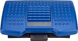 Mind Reader 可调节高度脚托 带滚轮 适用于按摩,蓝色