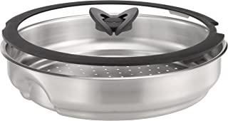 Tefal 特福 Ingenio 不锈钢蒸锅,带玻璃盖,可用作煎锅