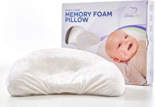Baby Head Shaping *泡沫枕头和枕套 奢华婴儿淋浴礼物,送给宝宝的头部。 防止淋浴。 Baby Pillow