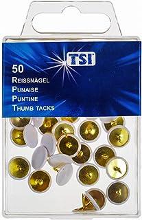 TSI 48088 绘图针 50 个装 白色