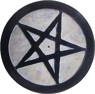 diollo 皂石五芒星祭坛瓷砖 10.16 厘米