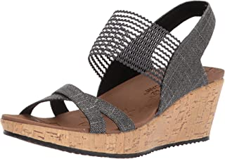 Skechers Beverlee-High Tea 女士坡跟凉鞋