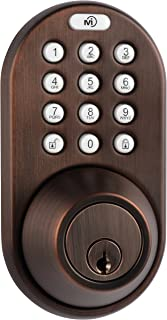 MiLocks 电子无钥匙入门触摸板挂锁 青铜色 DF-02OB