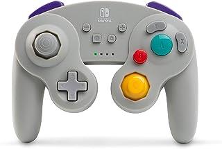 PowerA 游戏手柄 无线官方许可 GameCube风格/ 任天堂明星大乱斗灰色
