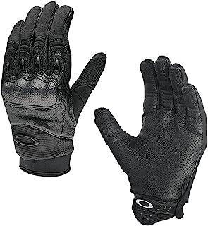 Oakley 男式工厂飞行手套,黑色 黑色 小号