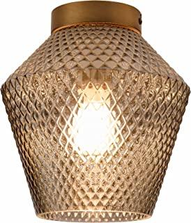 Pauleen 48229 水晶闪光吸顶灯 *大 20 W 烟玻璃 黄铜 拉丝玻璃 金属 E27