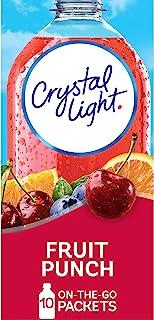 Crystal Light(蛋糕 5.72 升)水果冲孔饮料混合装,1.8 盎司包装(4 瓶装) 6片装