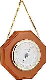 西铁城 温度计 ・ 湿度计 模拟 TM149 悬挂式 木框 茶 CITIZEN 9CZ102-006
