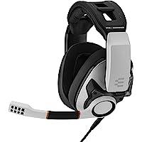 EPOS I Sennheiser 森海塞尔 GSP 601 游戏耳机,降噪麦克风,翻转静音,人体工程学头带,泡沫耳垫…
