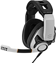 EPOS I Sennheiser GSP 601 游戏耳机,降噪麦克风,翻盖式,符合人体工程学,耳塞,兼容PC,Mac,PS4,PS5,Xbox 系列X,Xbox One和Nintendo Switch(白色)