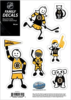 Siskiyou 运动 NHL 小号家庭贴花套装