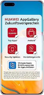 Huawei 华为 P40 Pro Plus 双卡智能手机(16.7cm/6.58英寸,512GB内部存储,8GB RAM,Android 10 AOSP 无Google Play商店,EMUI 10.1),陶瓷黑
