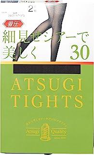 ATSUGI 厚木 连裤袜 ATSUGI (Atsugi Tights) 压力 30旦尼尔 可爱透美丽 紧致 脚踝9hPa 30D 2双装 女士 FP90132P