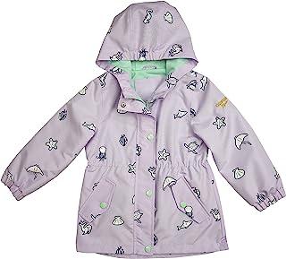 OshKosh B'Gosh 女婴连帽轻便雨衣夹克