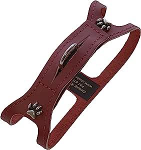 ChokeFree 宠物肩领,10 英寸,非金属红