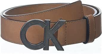 Calvin Klein 男士38毫米光滑表带哑光皮带