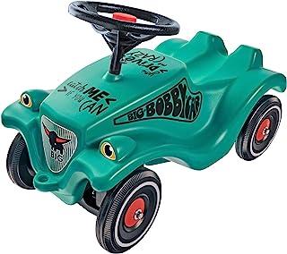 BIG-Bobby-Car-Classic Racer 2 – 儿童车,带两个不同的贴纸,适合男孩和女孩,承重可达50千克,适合1岁以上儿童。